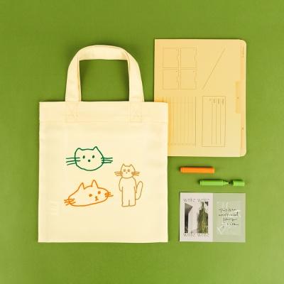 미니 에코백 컬렉션 - 어쩌다 고양이
