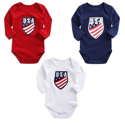 미국 USA 긴팔 바디수트(6-24개월) 203097
