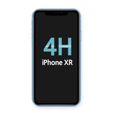 아이폰XR 4H하드코팅 고투명 보호필름 BLACK LABEL