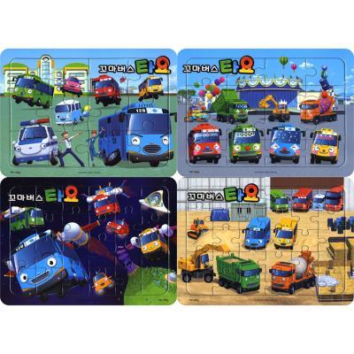 12 16 24 30조각 판퍼즐 - 꼬마버스 타요 2 (4종)