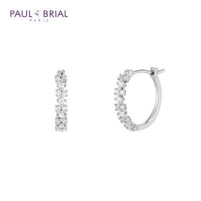 폴브리알 PYBE0088 (WG) 오로라 후프링 귀걸이