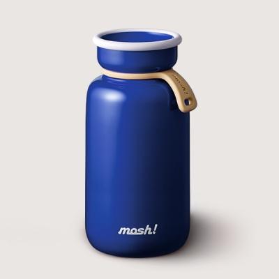 [MOSH] 모슈 보온보냉 라떼 텀블러 450 블루
