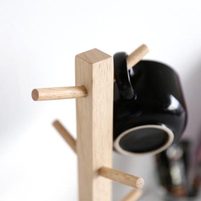 [MORINOKI] 모리노키 원목 사각 컵걸이