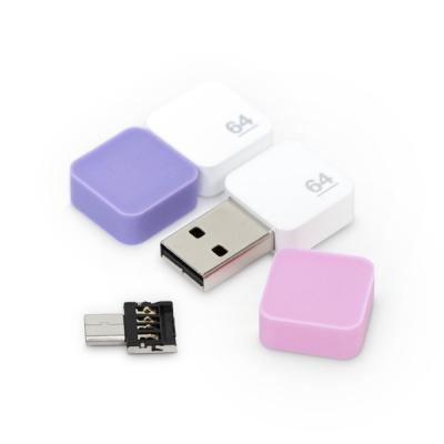 소프티 플러스 64G C타입 OTG USB메모리 (캡추가증정)