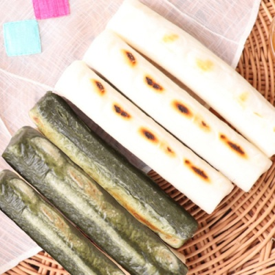 유기농 백미 가래떡 300gx2팩+쑥 가래떡 300gx2팩