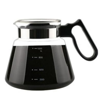 카페테리아 핸드드립 직화용 커피드립서버 1000ML(1P)