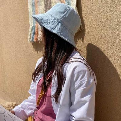 Mujer verano daily  라운드 벙거지모자 2color