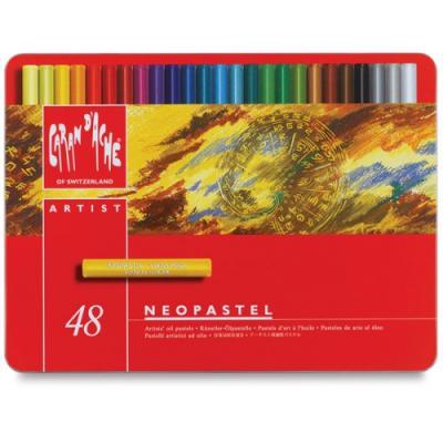 NeoPastel 48색-오일 파스텔