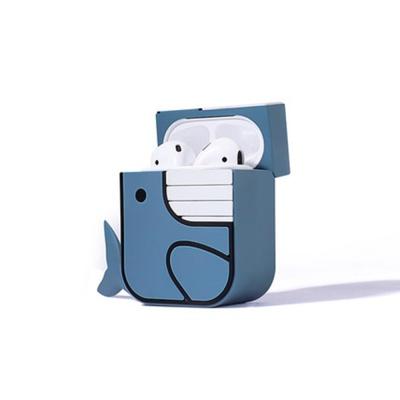 에어팟 니모 실리콘케이스 철가루방지스티커 321 블루