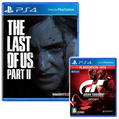 PS4 더 라스트오브어스 파트2 + 그란투리스모(더블팩)