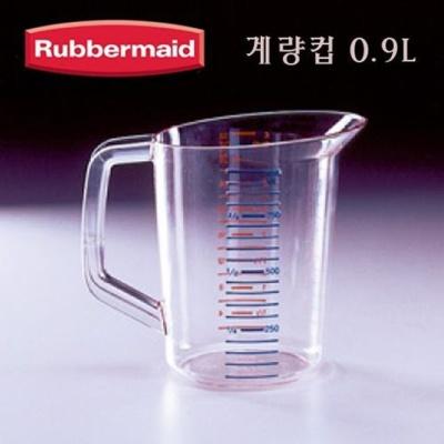 러버메이드 계량컵 플라스틱 계량컵 실험실용품 0.9L