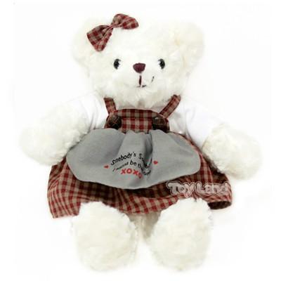 체크테디베어-여자곰(대형)