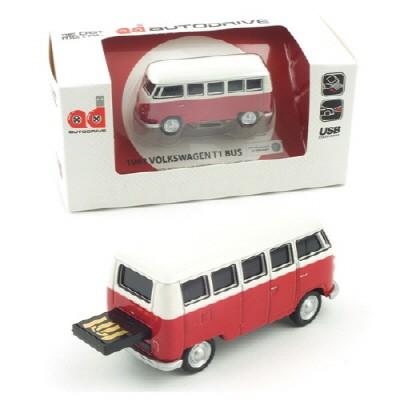 1/72 폭스바겐 삼바 버스 USB 16GB (WE002138RE) USB 메모리 모형자동차
