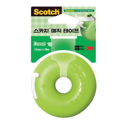 매직테이프(도넛)-멜론 (3M) 105023