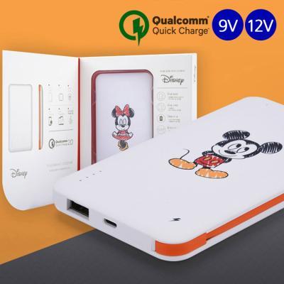 [디즈니정품] 디즈니 고속충전 퀵차지 보조 배터리 10000mAh 9V 12V