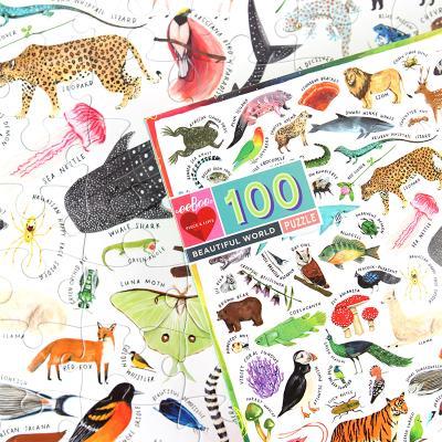 아름다운 세계 100피스 퍼즐 / 5세이상