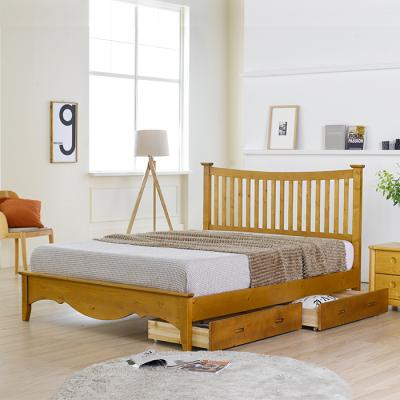 이홈데코 오델리 서랍형 원목 침대프레임(Q)