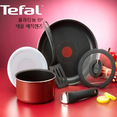 주방명품 Tefal 테팔 플래티늄 매직핸즈 6p (세트)