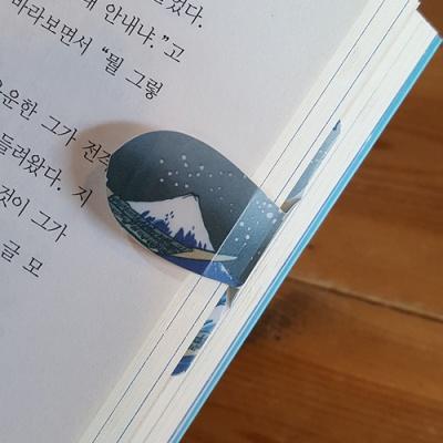 자동책갈피 수지인 카츠시카 호쿠사이 거대한파도