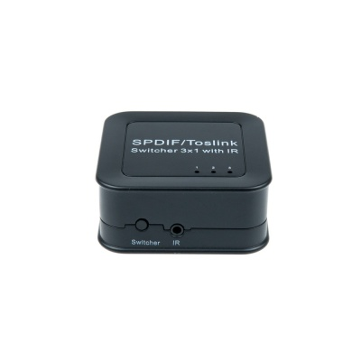 3in1 오디오 선택기 / SPDIF Toslink 스위치 LCAS906