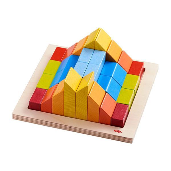 [하마비즈]3D 창의 원목 블록