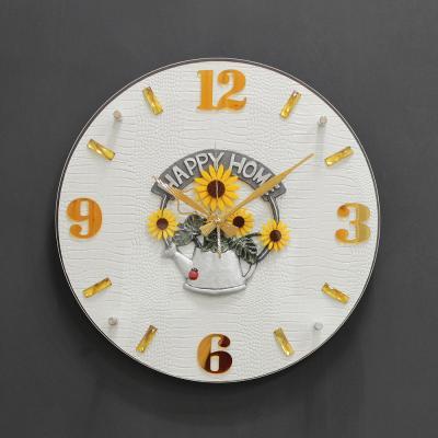 (khyn009)저소음 해피홈 가죽디자인 시계