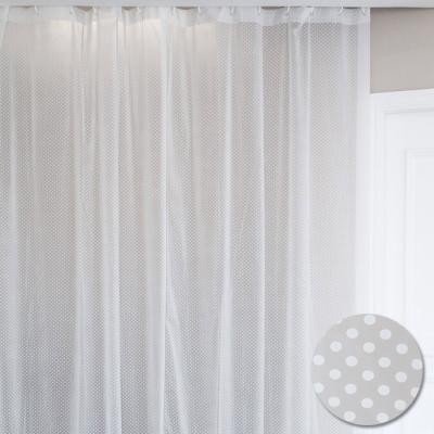 화이트 도트 다용도 샤워커튼 비닐커튼S (100x60cm)