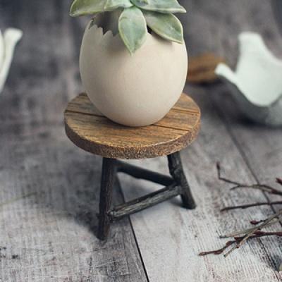 [콩지] 원형 테이블 미니어쳐