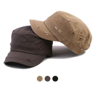 [디꾸보]코튼 빈티지 군모 밴딩 모자  HN619