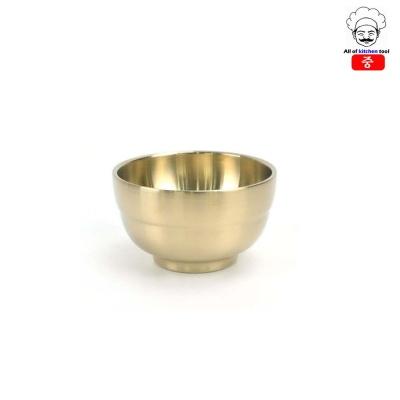 티타늄 막걸리잔(죽그릇) 놋그릇(중)
