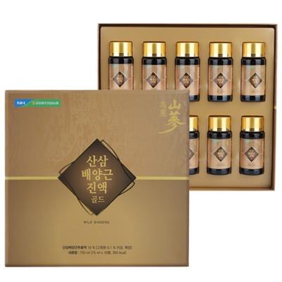 [김포파주인삼농협] 산삼배양근 진액골드 75mlx10병
