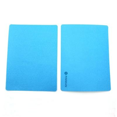 부직포 마우스패드 사무용품 마우스패드 블루
