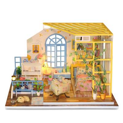 [adico]DIY 미니어처 하우스 - 헬로 스프링