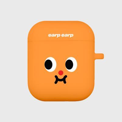 Cute expression-orange(Air Pods)