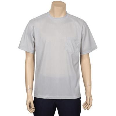 남성 여성 여름 데일리 반팔 티셔츠 고급 망사 골지