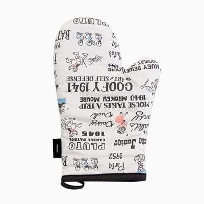 미키마우스 모던타임 주방장갑