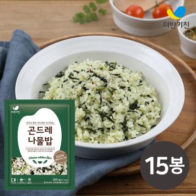 [더반키친] 곤드레나물밥 250g x 15개