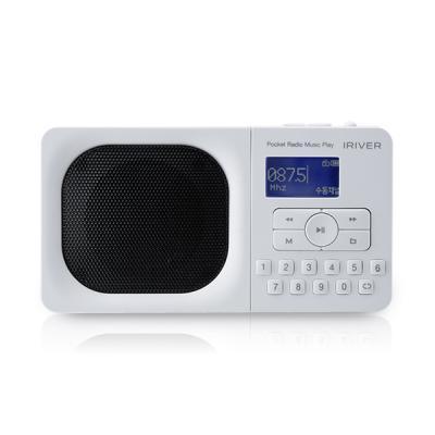 아이리버 포켓 라디오 뮤직 플레이어 IRS-B303 화이트