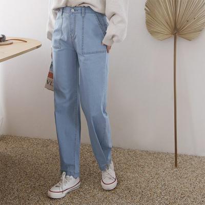 Button Boyfit Jeans