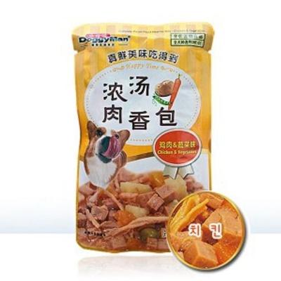 애견 강아지 수제간식 완소 파우치 치킨 80g