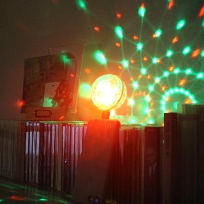미러볼 가정용 싸이키 조명 LED 미니 + 젠더1P