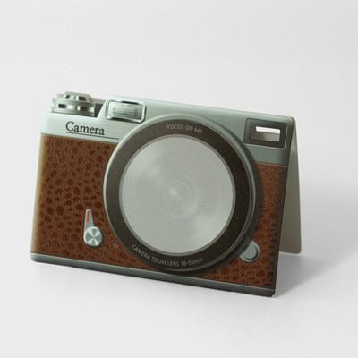 미니앳 카메라 브라운 Mini at CAMERA brown