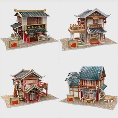 [3D퍼즐마을][입체퍼즐][W시리즈] 월드 스타일 시리즈 - 중국편