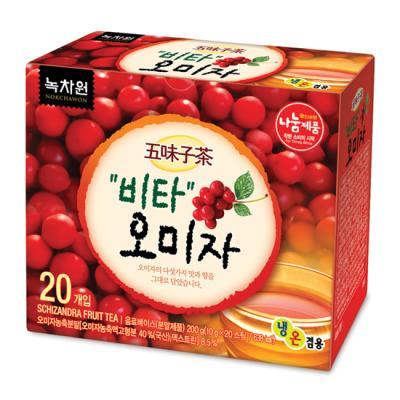 [녹차원]비타오미자차 20티백(다섯가지 맛 오미자)