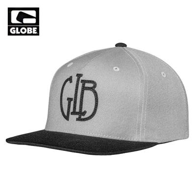[GLOBE] BIRD SNAPBACK CAP (BLACK/GREY)