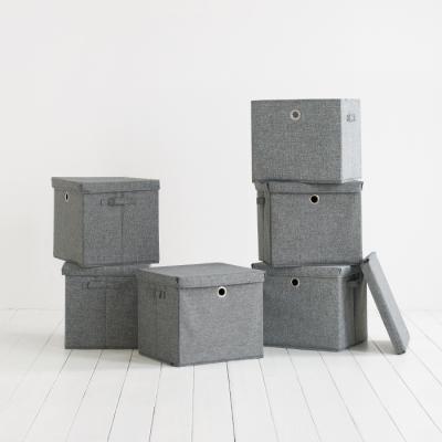 유닛 큐브 박스 - 스톤그레이 4P