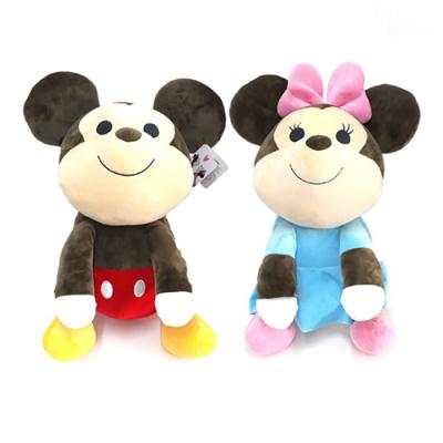 정품 디즈니 베스트프렌즈 미키,미니 봉제인형 40cm