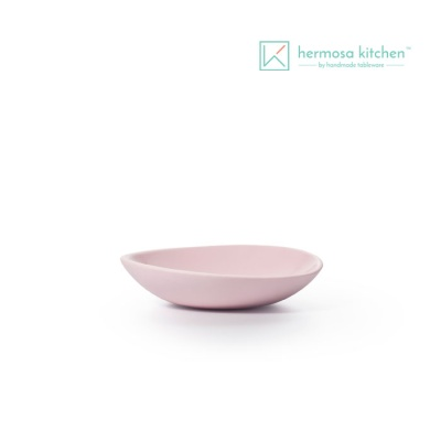 [에르모사키친] 컬러머드 7인치 플레이트 핑크 17.8cm