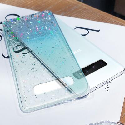 아이폰XR/XSMAX/SE2/8/7 글리터 투명 젤리 폰케이스