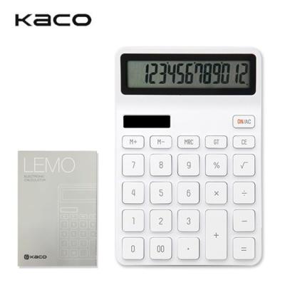 [KAKO] 카코 레모 데스크톱 전자계산기 - 화이트
